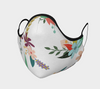 Floral Face Mask, with Filter Pocket and Metal Nose Piece