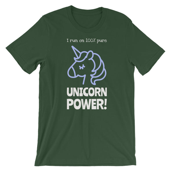 I Run on 100% UNICORN POWER! T-Shirt