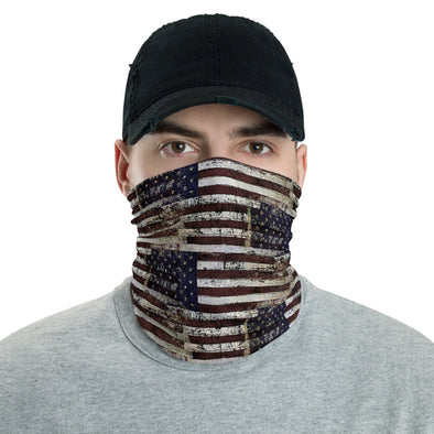 USA Flag Neck Gaiter, American Flag Breathable Mask
