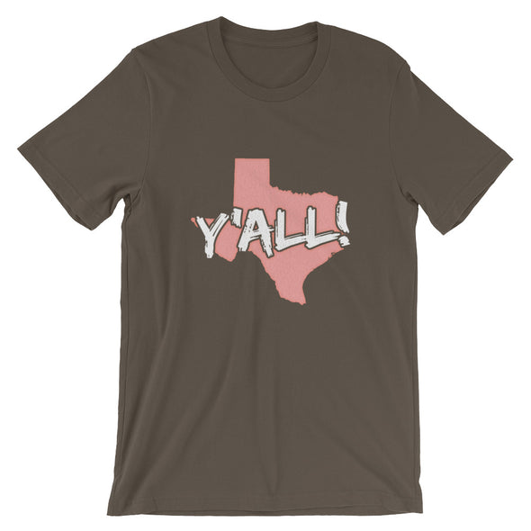 USA Texas Y'all T-Shirt