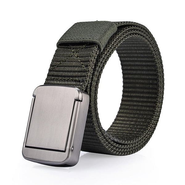 118CM  Nylon Metal Alloy Buckle Belt