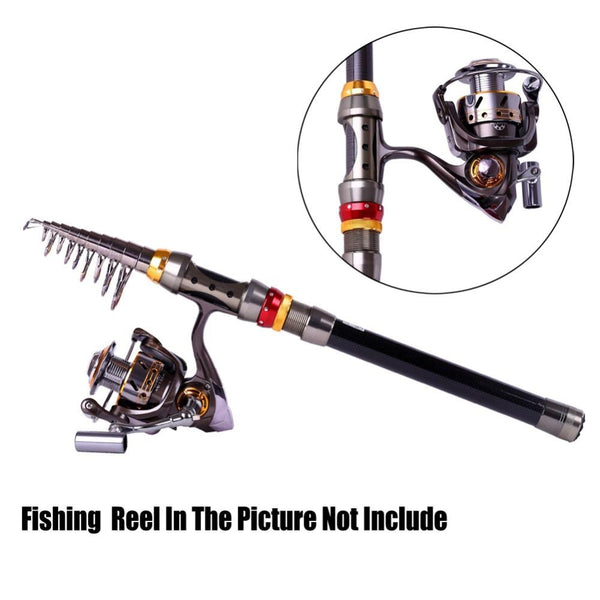 ZANLURE Telescopic Fishing Rod