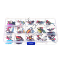 Colorful Spoon Metal Fishing Lure 30pcs/lot