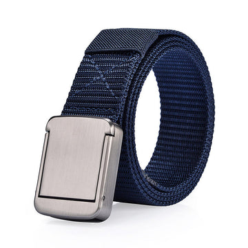 118CM  Nylon Alloy Buckle Belt