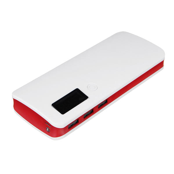 20000mAh Flashlight Battery Case Power Bank Box