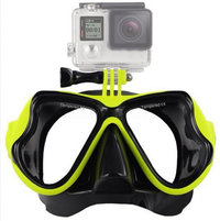 Water Goggles Face Glasses Mount For GoPro Hero 4