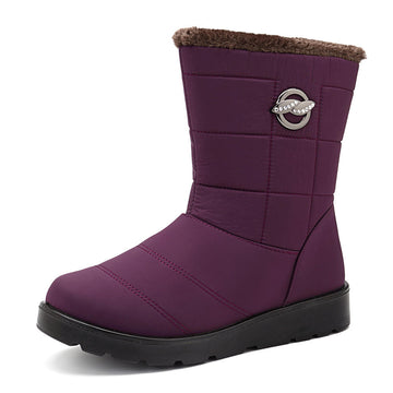 Women Fur Warm Snow Boots