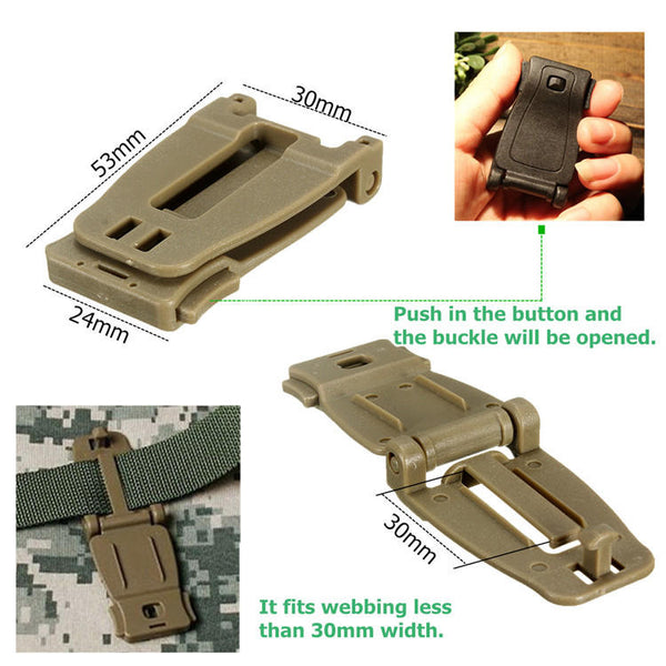 Connecting Buckle Clip