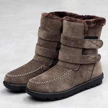 Women Snow Fur Lining Boots