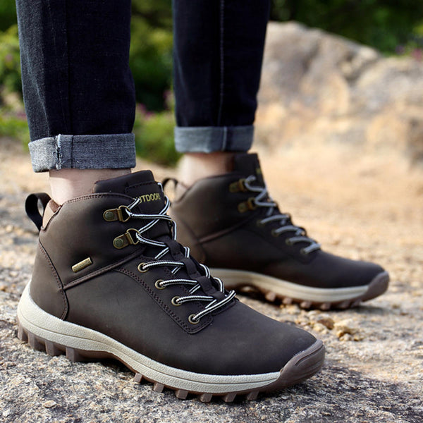 Waterproof Hiking Ankle Boots
