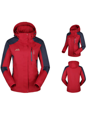 Waterproof Windproof Women Jacket
