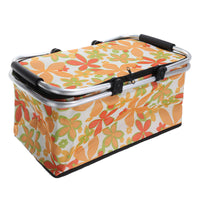 Picnic 30L  Storage Baskets Folding Insulated Cooler Bag