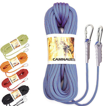 CAMNAL Nylon Climbing Rope 10m 10.5mm Diameter 16-32KN