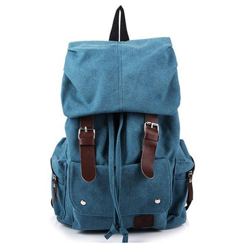 Men And Women Canvas Backpack