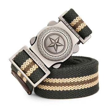 Military Tactical Belt Automatic Buckle