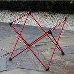 Lightweight Picnic BBQ Square Folding Table