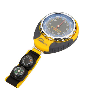 Digital Mini Compass Altimeter Thermometer Barometer