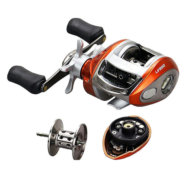 Stainless Steel Baitcasting Fishing Reel