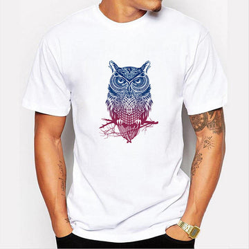 T-shirt  Owl Printed