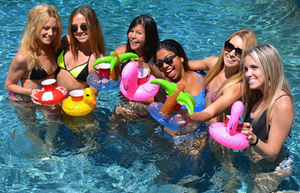 Inflatable Drink Holders (13 designs)