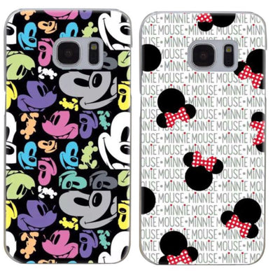 Mickey or Minnie Samsung Phone Case
