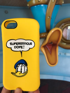 Yellow Donald Duck iPhone Case