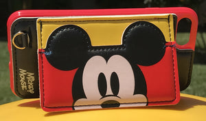 Mickey Wallet & Stand iPhone Case