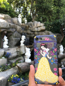 Snow White Mosaic iPhone Case