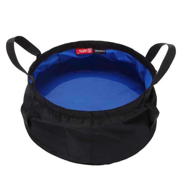 8.5L Portable Collapsible Folding Basin Bucket (3 colors)