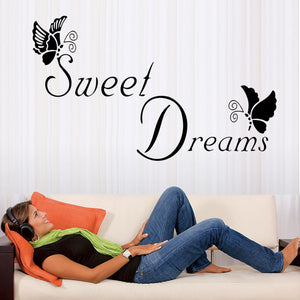 """Sweet Dreams"" Wall Sticker - Decal"