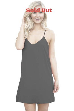 Summer Days Short Dress in Black