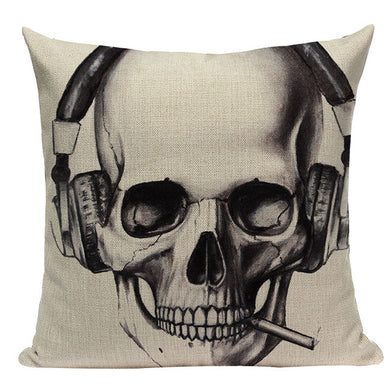 Halloween Skull Cushion Covers (10 designs)