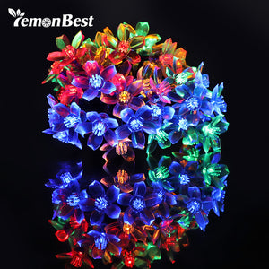 5m LED Floral String Lights