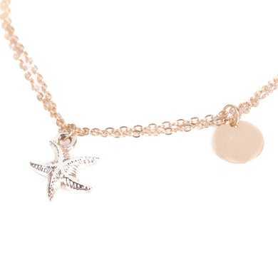 Starfish Chain Anklet - Jewelry