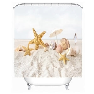 Beach Vibes - Shower Curtain