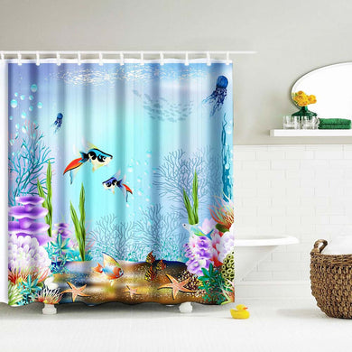 Sea Life - Shower Curtain