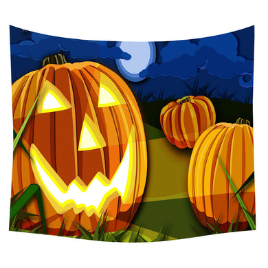 Halloween Large Pumpkin Throw