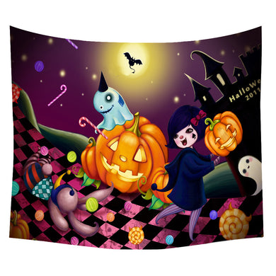 Halloween Trick or Treat Throw