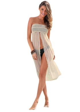 Tee-Dress/Mid-Skirt Swimsuit Cover-up