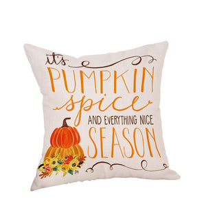 Pumpkin Spice Pillow Covers (6 designs)