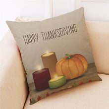 Thanksgiving Day Pillow Cover (7 designs)