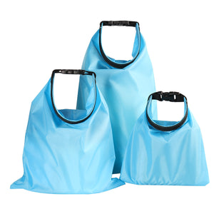 Set of 3 Waterproof Dry Storage Bags (1.5L, 2.5L, 3.5L)