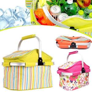 Collapsible Insulated Picnic Tote (3 designs)