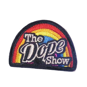 Dope Show iron-on patch