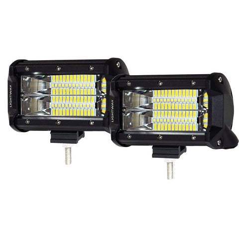 PAIR 5INCH CREE 24 LED LIGHT BAR