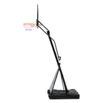3.05M Adjustable Portable Basketball Stand Hoop System Rim