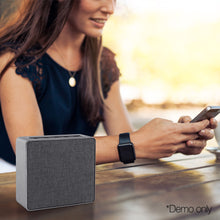 Load image into Gallery viewer, Jonter Mini Desktop Wireless Bluetooth Speaker - Grey
