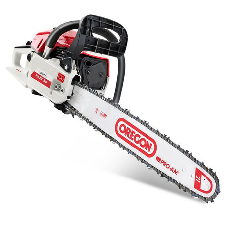 GIANTZ 62cc Commercial Petrol Chainsaw 20 Oregon Bar E-Start Chains Saw Tree