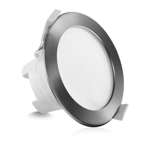 10 x LUMEY LED Downlight Kit Ceiling Light Bathroom CCT Changeable Color Temperature Dimmable Daylight Satin 10W 90MM