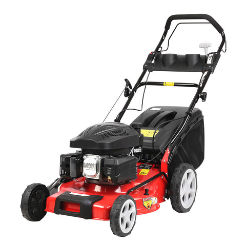 Giantz Lawn Mower 165cc Lawnmower Electric Start Self Propelled 18inch